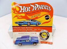 Hot Wheels Rolls Royce Silver Shadow - Blue - **RARE** - Vintage Blister Redline