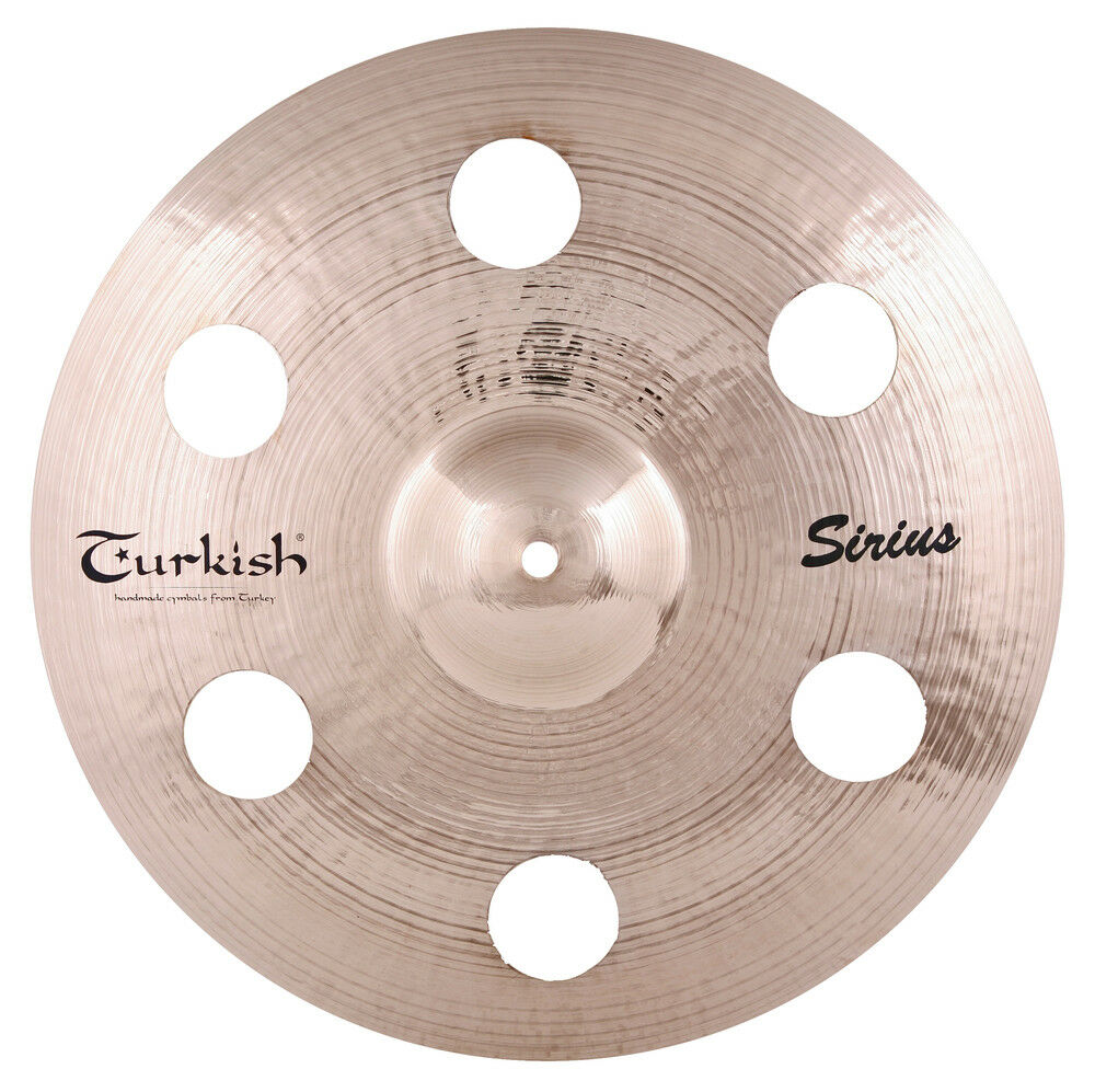 Turkish Cymbals Effects Series 18  Sirius Holey Crash  SS-C18