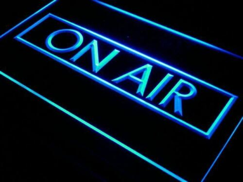 On Air Neon Sign OnOff recording studio LED light door sign wall hanging
