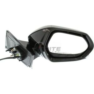 For 2016-2018 Toyota Prius Black Power Heated Manual Foldaway Right Side Mirror