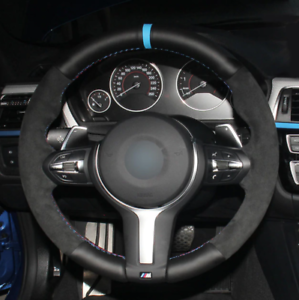 BMW F87 M2 F80 M3 F82 F12 F13 F85 F86 F33 F30 Cubierta De Volante ALCANTARA Cuero