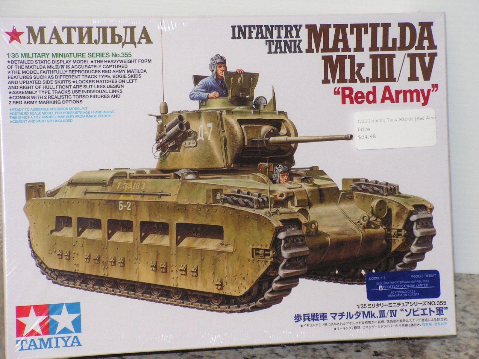 TAMIYA  35  RED ARMY  MATILDA MkIII IV TANK FS