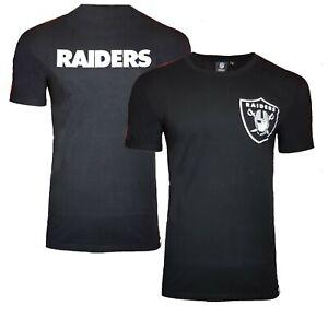 Majestic Oakland Raiders NFL T Shirt Mens S M L