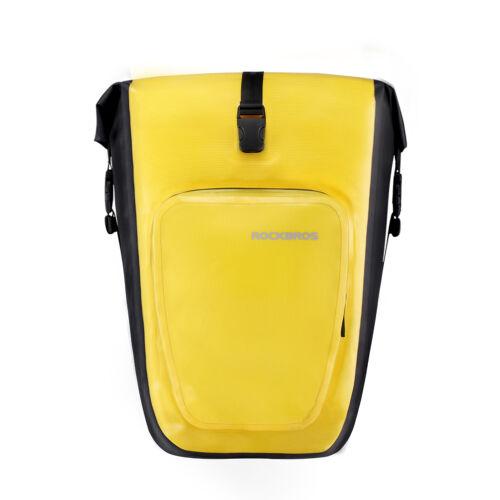 RockBros Bike 100/% Waterproof Pannier Bicycle Rear Seat Bag Rack Pack Bag 1pcs