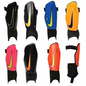 Nike Shin Pads Football Guards Youth Charge Kids Boys Small Medium ... 540cb038203e