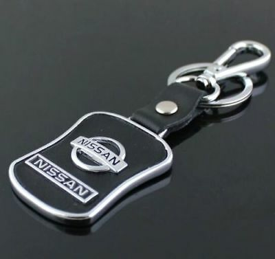 PU Leather Black Buckle Keyrings For Mazda Car Logo Key Ring Chain Keyrings