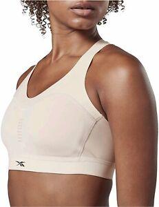Reebok-Womens-Puremove-Sports-Bra-Buff-Size-Medium-d7Qx