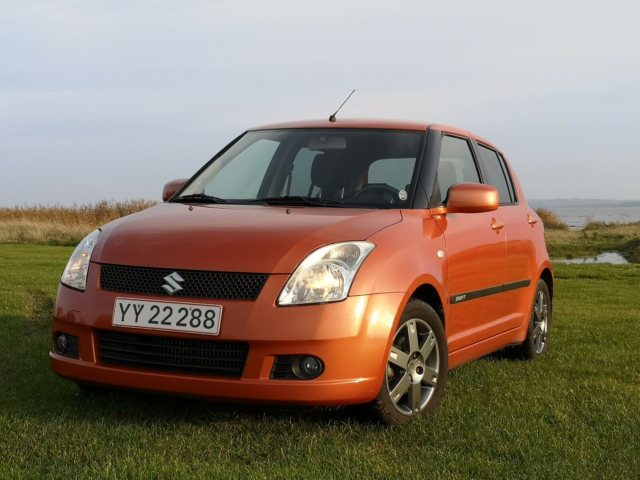 Suzuki Swift, 1,3 GL-A, Benzin, 2005, km 179800, orange,…