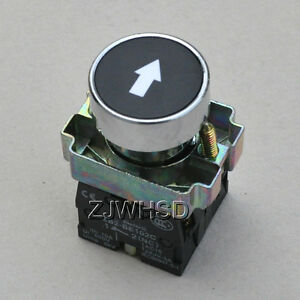 Arrowhead-sign-Momentary-Push-Button-Switch-NC-NO-Contact-Block