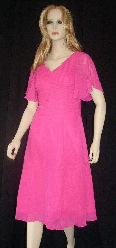 Vestido de Fiesta y Baile Madre la la la Novia Modelo Stella Fucsia Talla 40 (10) 67a73c