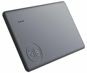 Brand NEW & SEALED!!! Tile Slim Bluetooth Tracker, 1 Pack, Black, 2020 Version