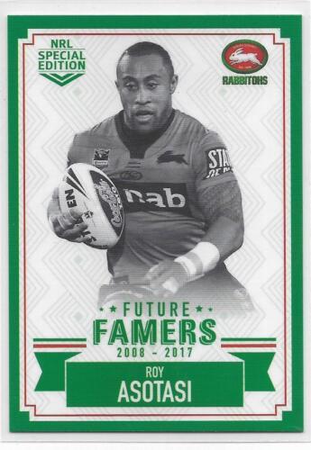 FF 23 Roy ASOTASI Rabbitohs 2018 Nrl Glory Future Famers