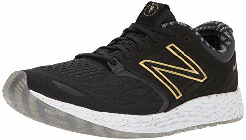 New Balance MZANTNY3 Mens NYC Zantev3 Running shoes, Black gold, 8 D US