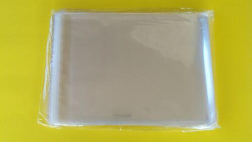 200 9x12 /& 10X13  SELF SEAL LIP /& TAPE CLEAR POLYPROPYLENE /'CELLO/' BAGS