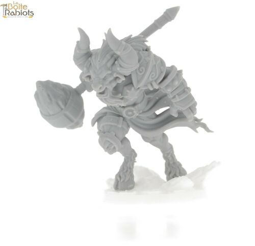 3D figurine 28mm Jeux de tôle//9th age//Cthulu-Minotaure