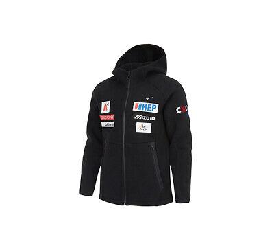 Mizuno CRO SKI FLEECE ZIP UP Jacket 32YE9670 Black Size S XXL | eBay