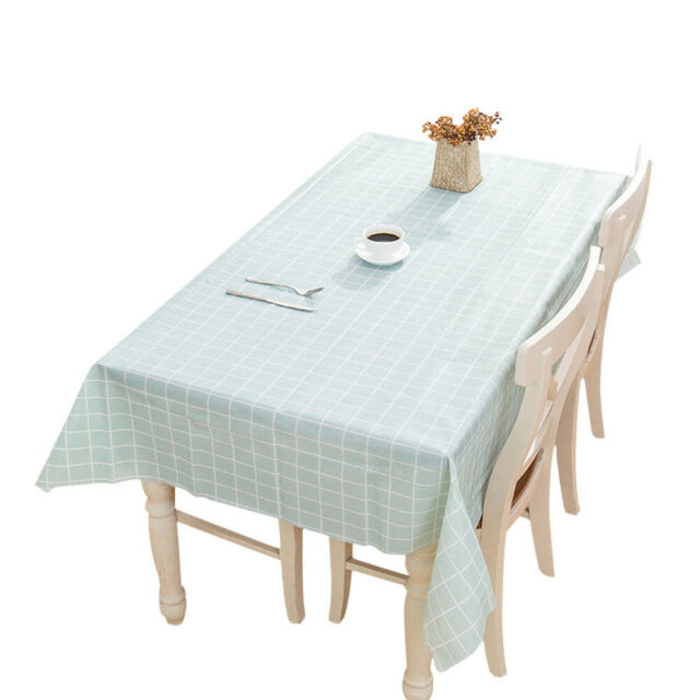 Rectangle Oilproof Tablecloth Table Cloth Cover Party Home Dining Table Decor Us For Sale Online