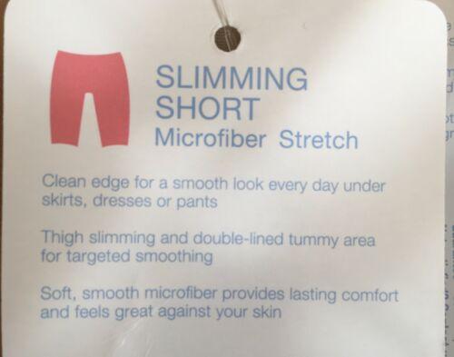JKY by Jockey Microfiber Stretch Slimming Short ~ Beige or Black
