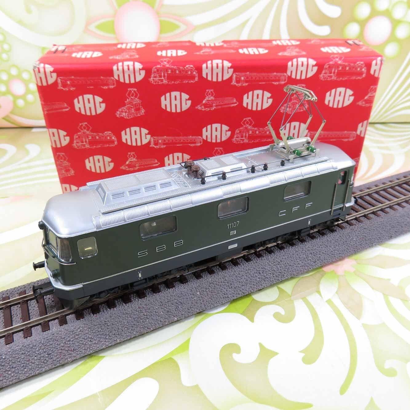 HAG 161 - H0 - SBB - E-Lok 1107- OVP -  O10456