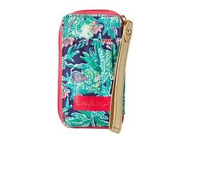 Image Is Loading NEW Lilly Pulitzer Carded ID SmartPhone Wristlet Bright