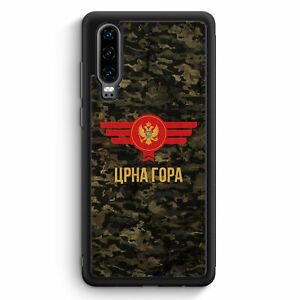 Montenegro-camuflaje-con-letras-cheers-huawei-p30-Silicona-Funda-motivo-Design-mie