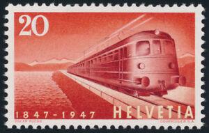 SCHWEIZ-1947-MiNr-486-I-Plattenfehler-tadellos-postfrisch-Mi-170