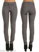 New WOMENS MID WAISTED Slim Fit Jeans Jeggings Stretchy Trousers PANTS 6 8 10 12
