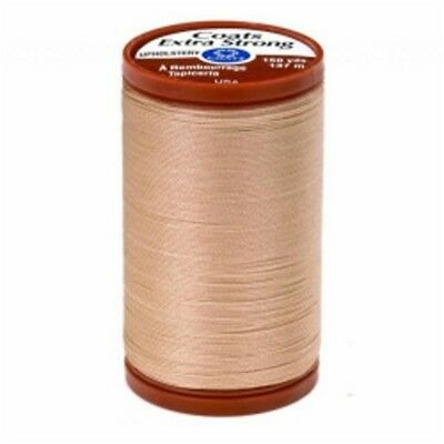 150yd Hemp Driftwood Coats /& Clark Extra Strong Upholstery Thread 150yd