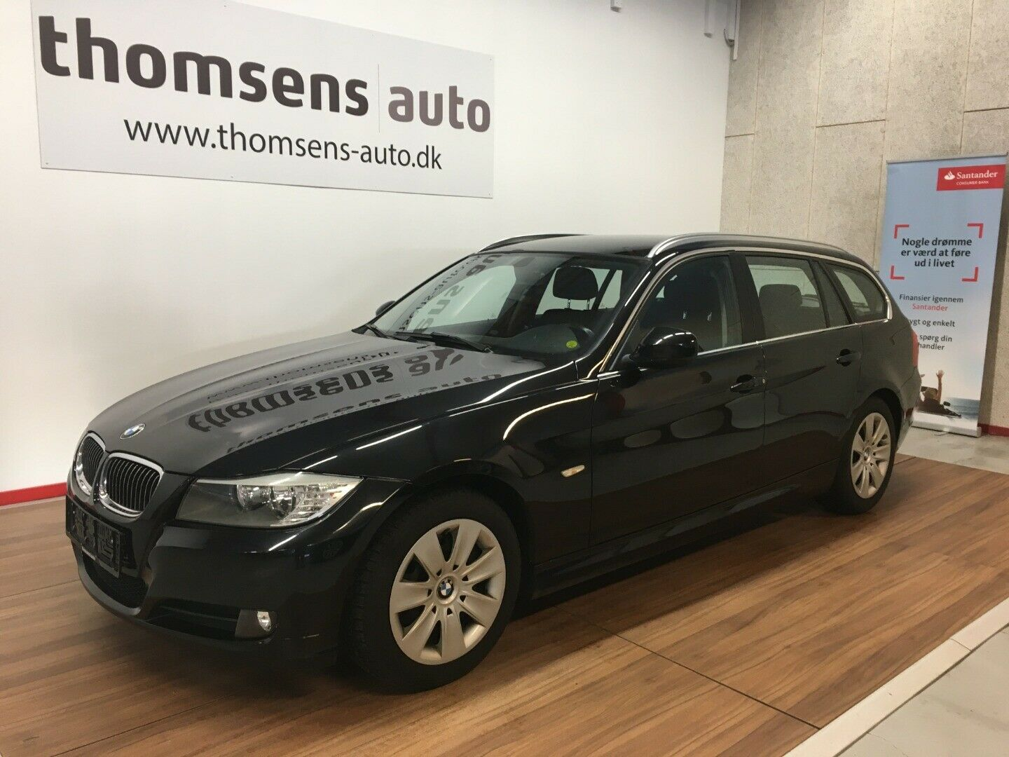 BMW 318d 2,0 Touring 5d - 99.400 kr.