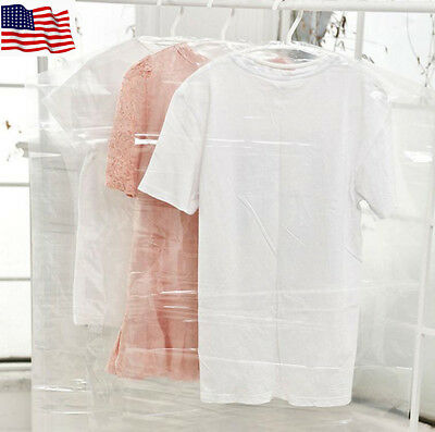 5-Pcs Garment Dress Clothes Suit Bag Hanging Storage Coat Travel Cover Protector