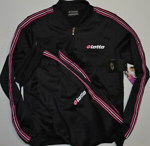 e4320b6450fb Details about Brand New Lotto Active Top and Pants Set Tracksuits Women's  Size S Black $125