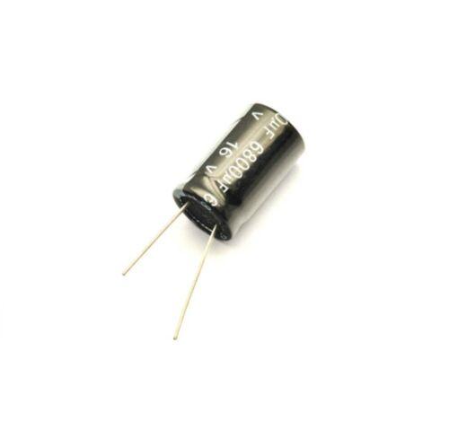 10pcs Electrolytic Capacitors 6800uF 16V New Radial