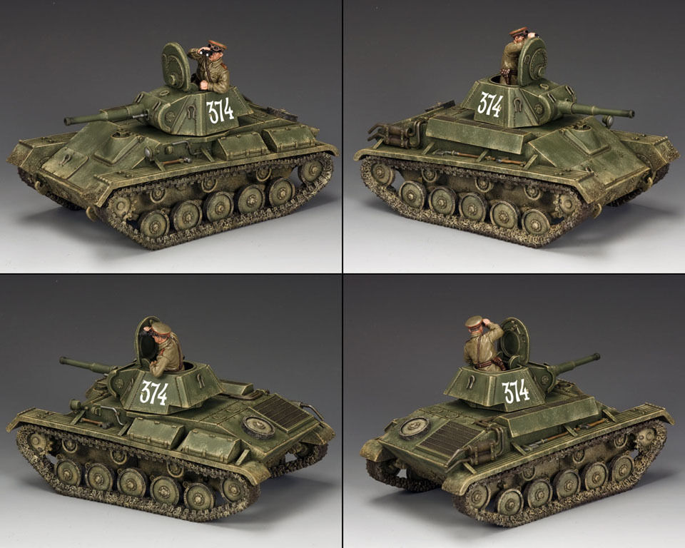 KING AND COUNTRY Red Army Russian T-70 Tank WW2 RA54 RA054