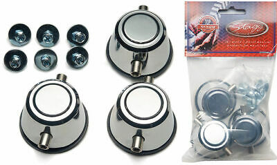 STAGG 1D-SR//P-HP Round Lugs for Piccolo Snare 3-Pack w Mounting Screws for Drums