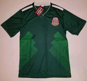 18fdd0d4c8a Image is loading 2018-Men-039-s-Mexico-generic-Replica-Soccer-
