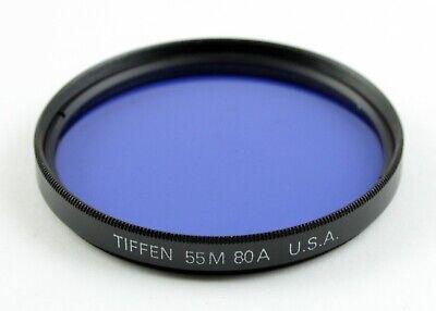 40.5mm Tiffen Color Conversion Glass 80A Filter MFR # 40580A