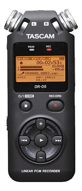 Tascam DR-05 96k   24-bit Portable Stereo Recorder