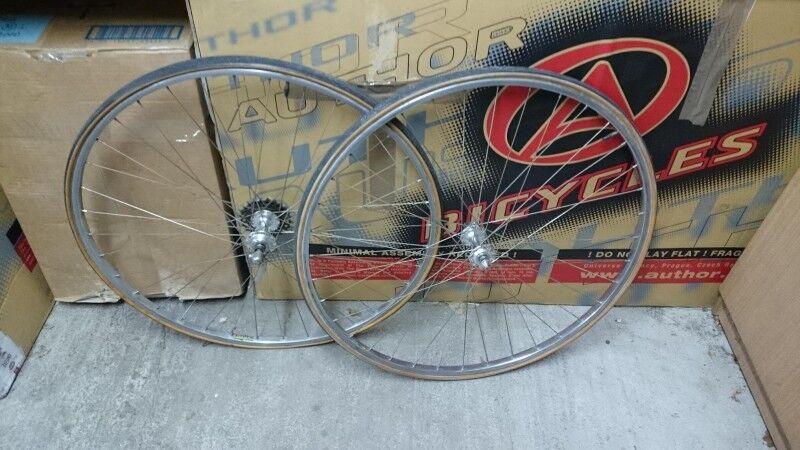 Retro road wheels MICHELIN AMBROSIO REGINA  gold 700C 28' 36 spokes  outlet online store