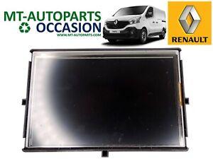 Afficheur Ecran Gps - Renault Clio Iv / Kangoo Ii / Captur / Trafic - 259153934r MatéRiaux De Haute Qualité