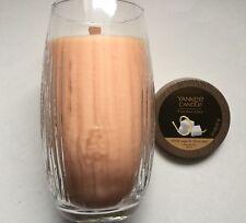 Yankee Candle PURE RADIANCE WHITE SUGAR & CITRUS ZEST 22 oz CRACKLING VASE JAR