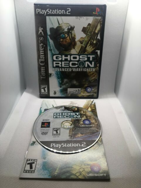 Tom Clancy's Ghost Recon Advanced Warfighter - Complete CIB - Playstation 2 PS2