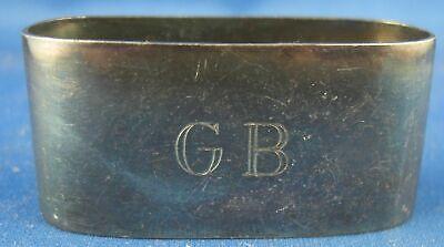 Vornehm Serviettenring Wilkens Form Gravur Gb 800er Silber