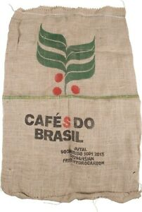 Large-Burlap-Coffee-Bag-Cafe-Brasil-Shelf-Art-jute-gunny-craft-sack-decor-bean