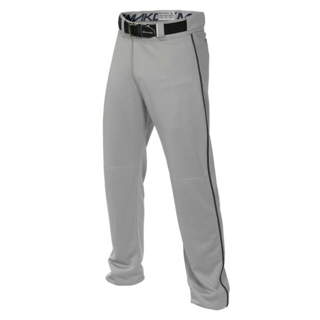 Easton Men/'s Full Baseball Pants Mako 2 Piped Contrast Color Piping A167101