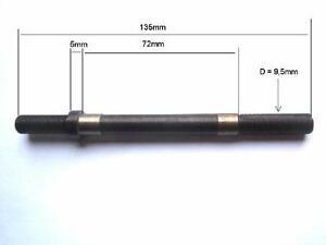 MAXI CAR AXE PLEIN  DE ROUE AVANT FIN  DE L/' AXE  = 9,5mm VINTAGE PARTS 90/'s