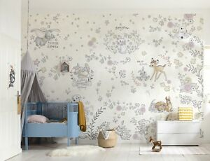Carta Da Parati Per La Camera Da Letto : Wallpaper for baby bedroom winnie the pooh disney wall mural giant