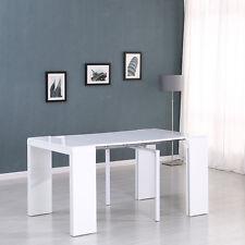Italian Oak LOOK 4 in 1 Extending Dining Table Multifunction