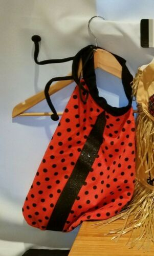 Dickens Closet pet costume Ladybug Size Medium New 1