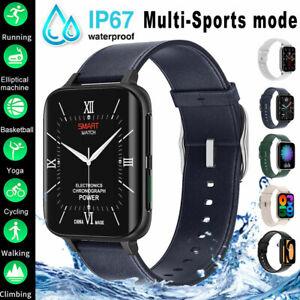 Smart Watch Sports Fitness Bracelet Blood Pressure Oxygen ECG Heart Rate Monitor