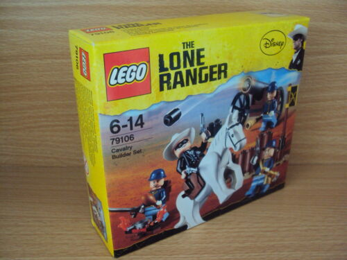 1 of 1 -  LEGO The Lone Ranger Model # 79106 Cavalry Builder Set - Brand New Sealed Pack